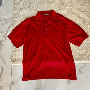 Red Bobby Jones men's polo